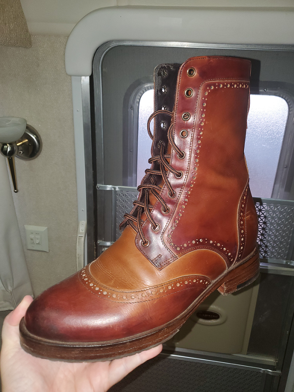 St George II ( Extended ) boot crafted by Don's Footwear that I personally own.